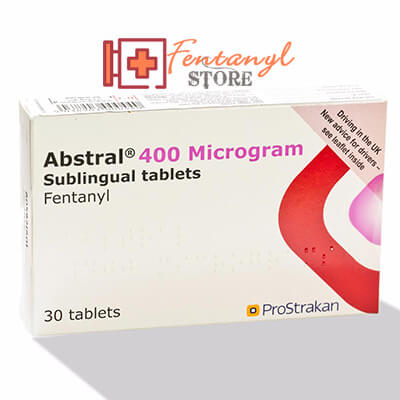 Abstral (Fentanyl) Sublingual Pills 400 mcg - 30 Pills
